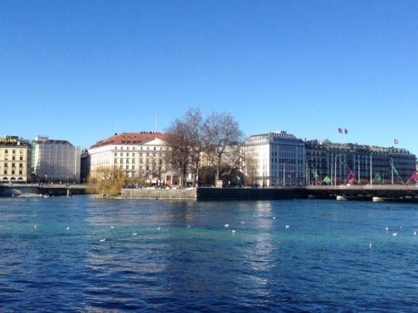 Île Rousseau Geneva