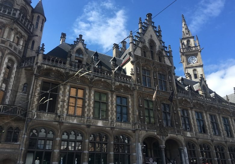 Post plaza Ghent