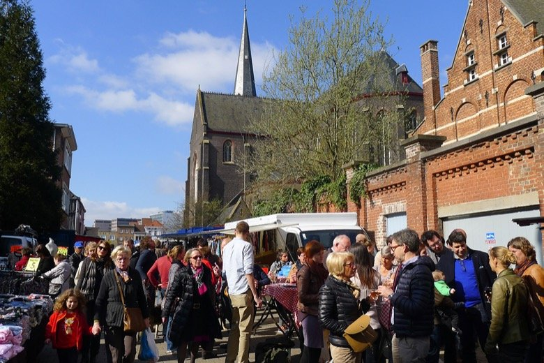 Sunday market at Ledeberg Ghent