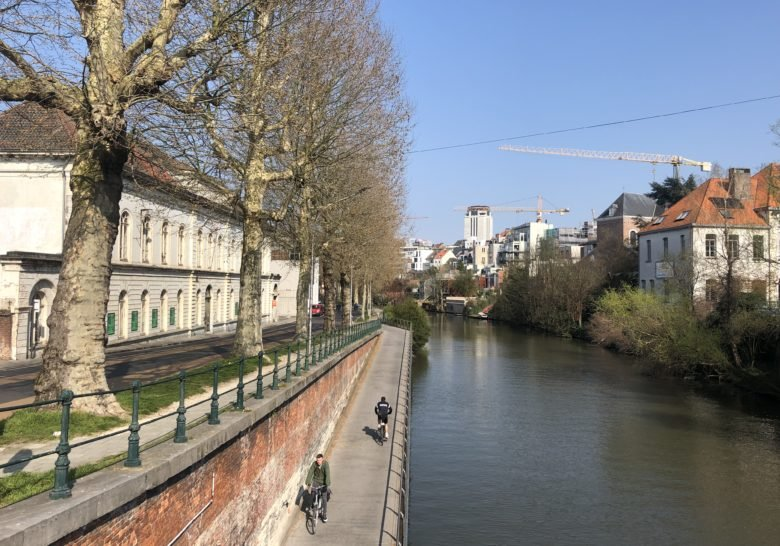 Walk to the city center Ghent