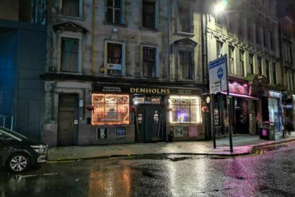 Denholm's Bar Glasgow