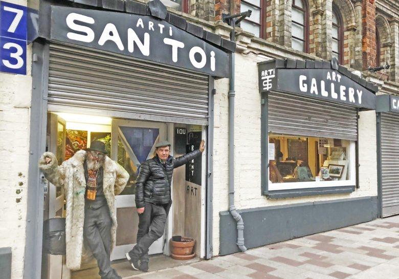 Arti San Toi Gallery Glasgow
