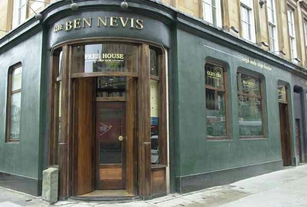Ben Nevis Pub Glasgow