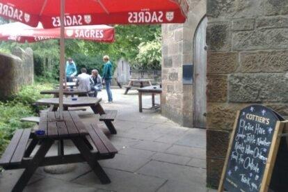 Cottier's Bar Glasgow