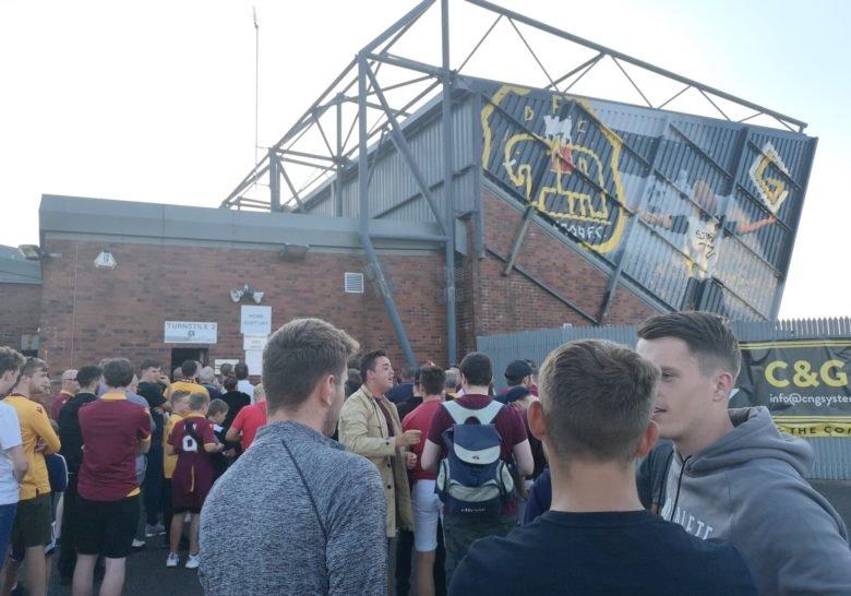 Dumbarton Football Stadium Glasgow