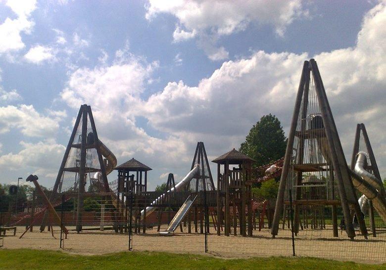 Glasgow Green Play Park Glasgow