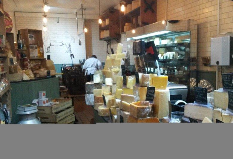 I.J.Mellis Cheesemongers Glasgow