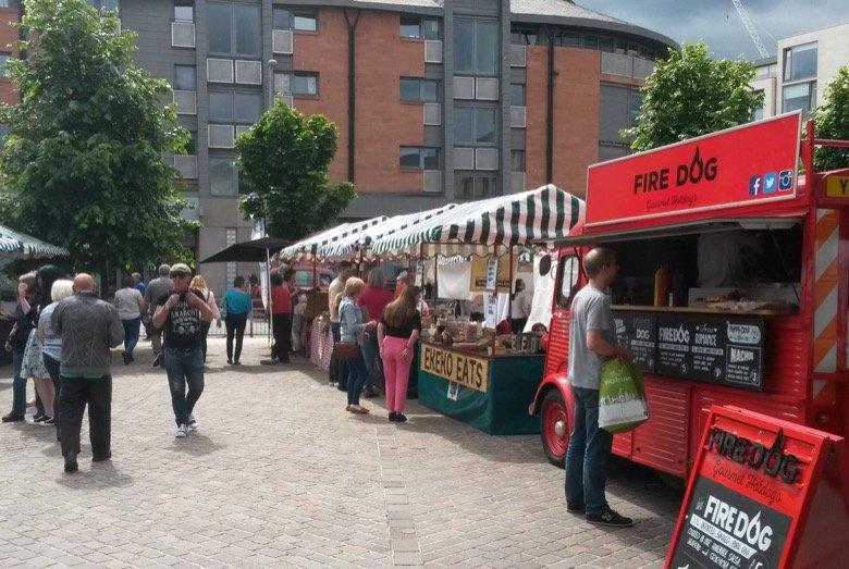 Partick Farmers Market Glasgow