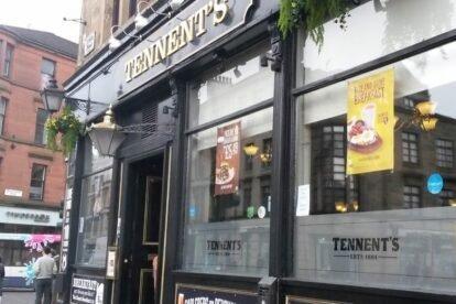Tennent's Bar Glasgow