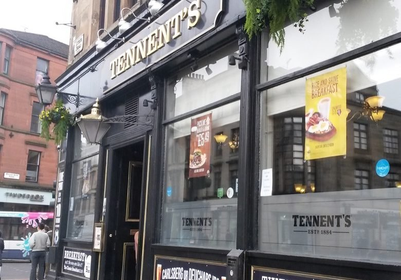 Tennent's Bar Glasgow