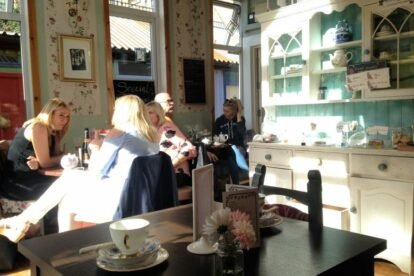The Hidden Lane Tea Room Glasgow