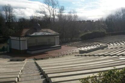 The Kelvingrove Park Bandstand Glasgow