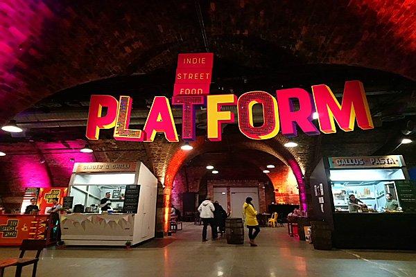 The Platform at Argyle St Glasgow