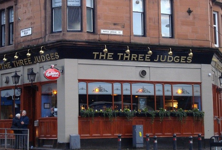 The Three Judges Glasgow