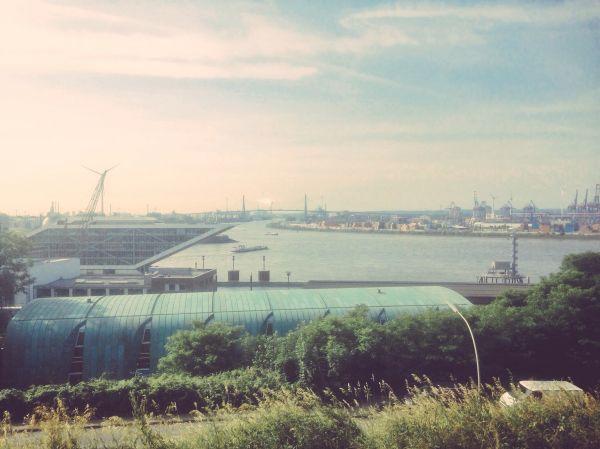 Altona Elbeview Hamburg