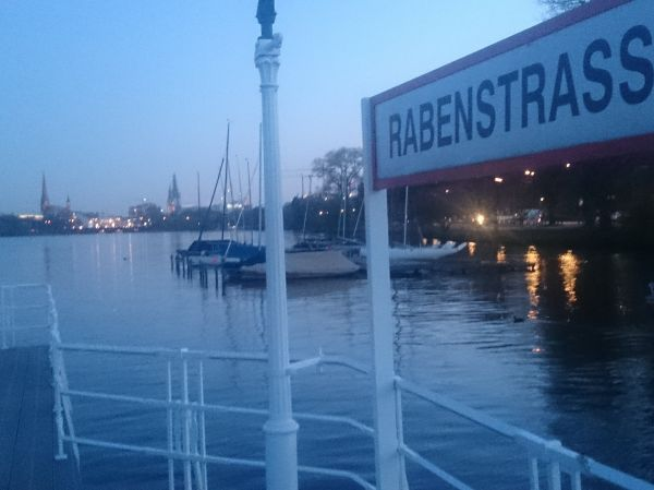 Bootsanleger Rabenstrasse Hamburg
