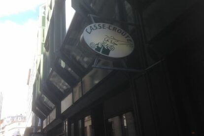 Casse-Croûte – Bistro with French-Hamburg cuisine