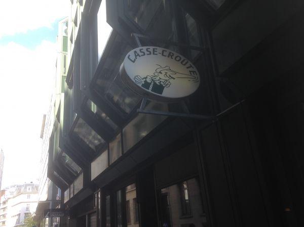 Casse-Croûte – Bistro with French-Hamburg cuisine