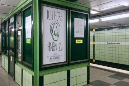 Das Ohr Zuhör-Kiosk Hamburg