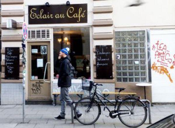 Eclair au café Hamburg