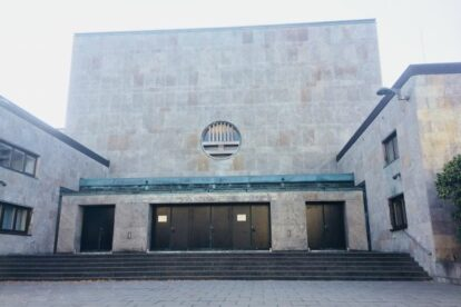 Former Jewish Temple Hamburg