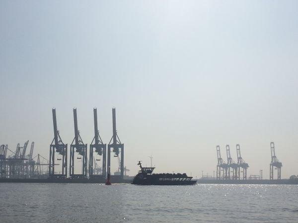 HVV Fähre Hamburg