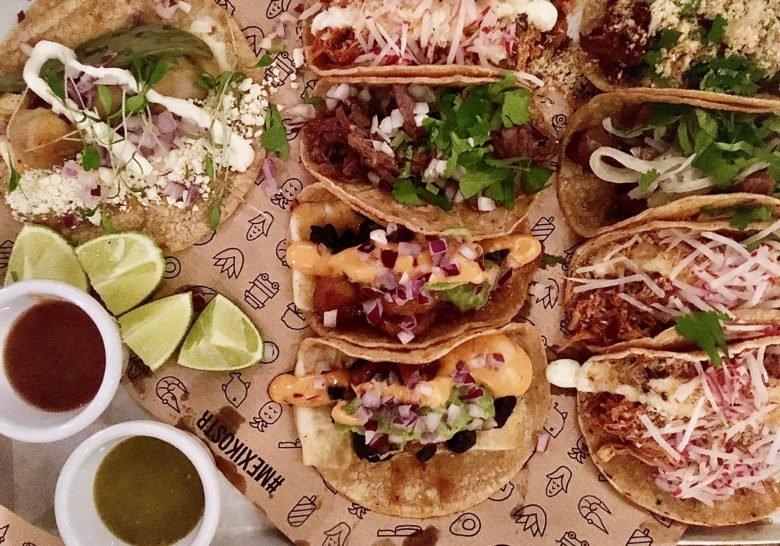 Mexiko Strasse Taquería Hamburg