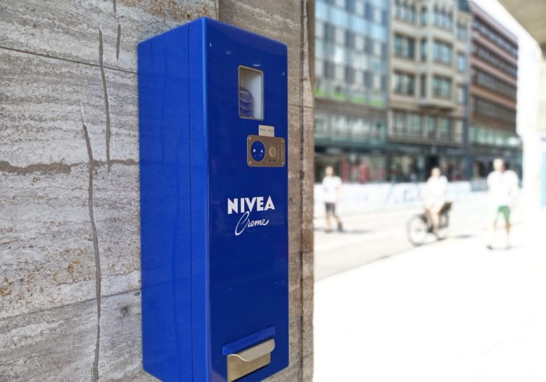 Nivea Vending Machine Hamburg