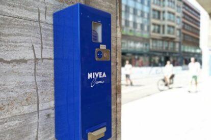 Nivea Vending Machine Hamburg