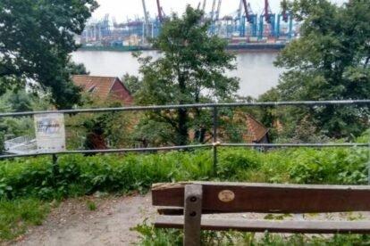Park Bench Hamburg
