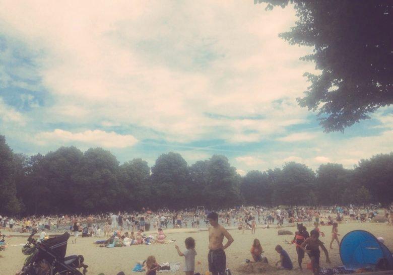 Stadtpark Paddle Pond Hamburg