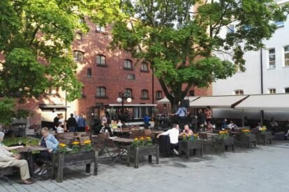 Linnanpiha Terrace Helsinki