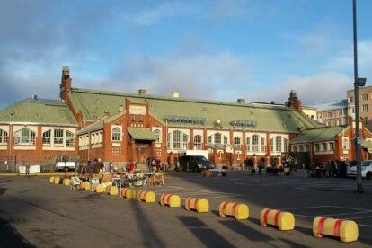 Hietalahti Market Hall Helsinki