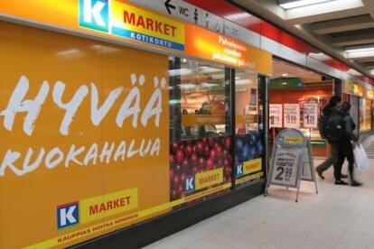 The nearest grocery store Helsinki