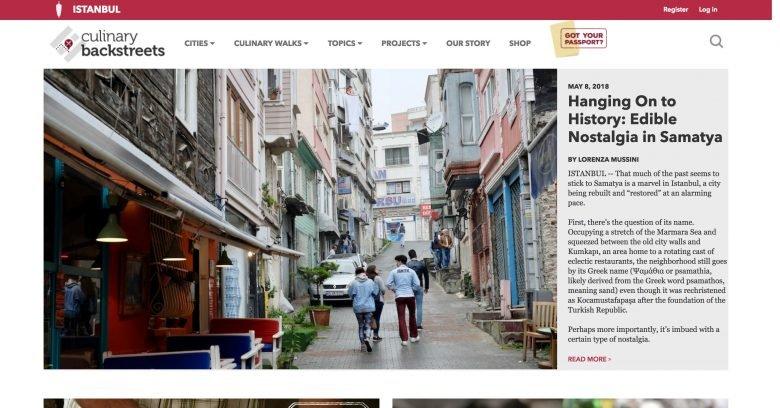 Culinary Backstreets Istanbul blog