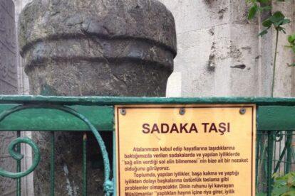 Sadaka taşı Istanbul