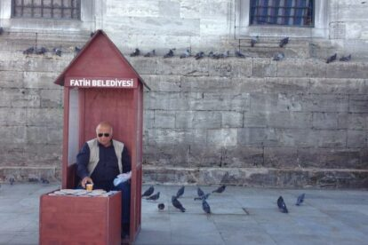 The Pigeon Feeder Istanbul