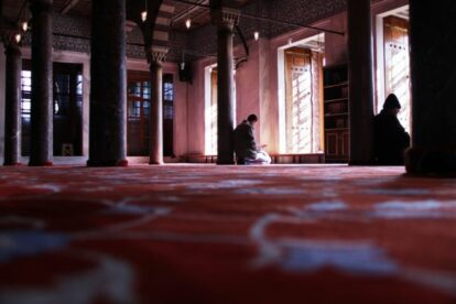 The Prayer - Sultan Ahmet Mosque Istanbul