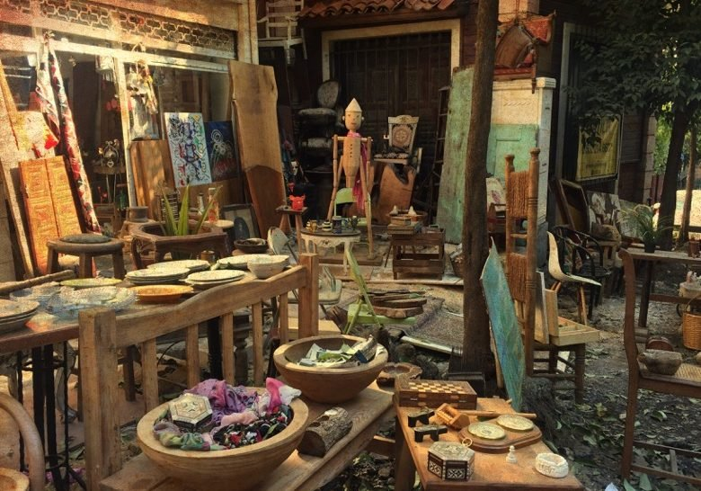 Antique Shops Street Istanbul