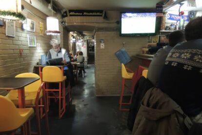 Trallebus bar Kyiv