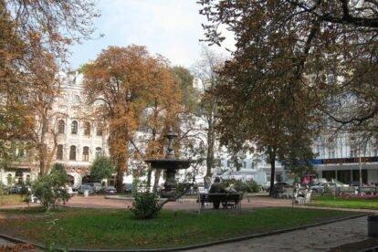 Ivan Franko theatre and square Kyiv