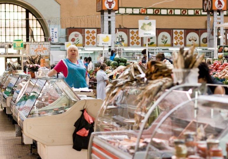 Bessarabka market Kyiv