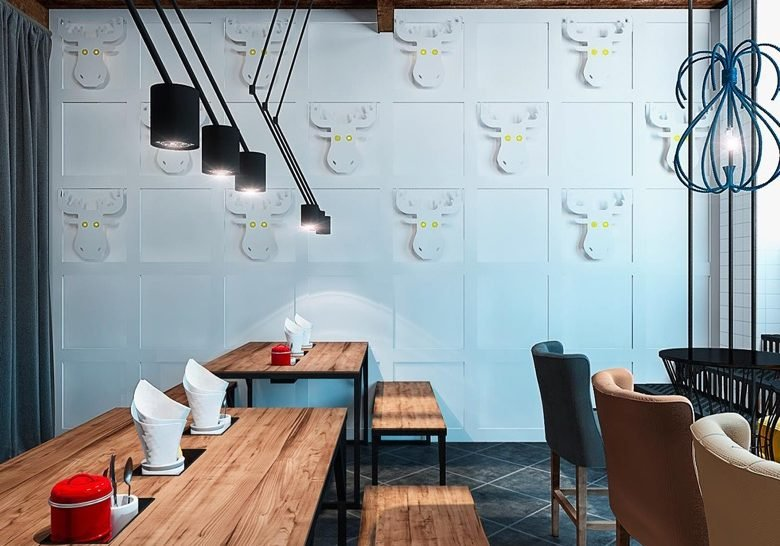 Blue cup coffee Kyiv