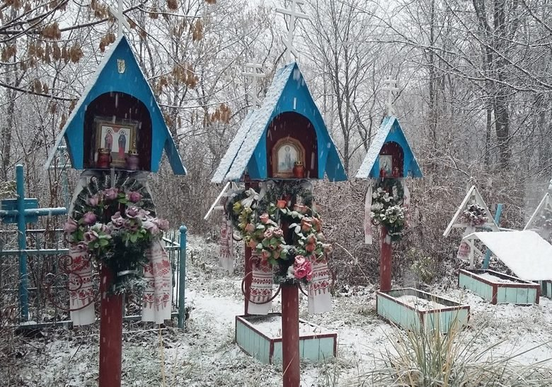 Old Believers Cemetery Kyiv
