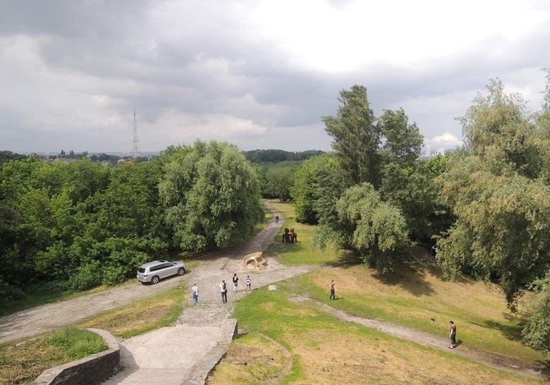 Starokyivska hill Kyiv