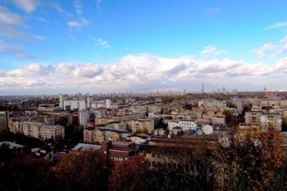 Tatarka hill Kyiv