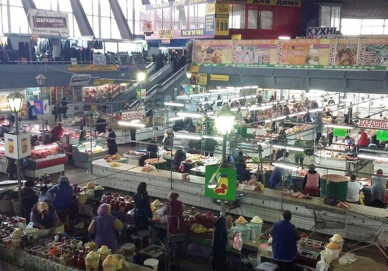 Zhytniy market Kyiv