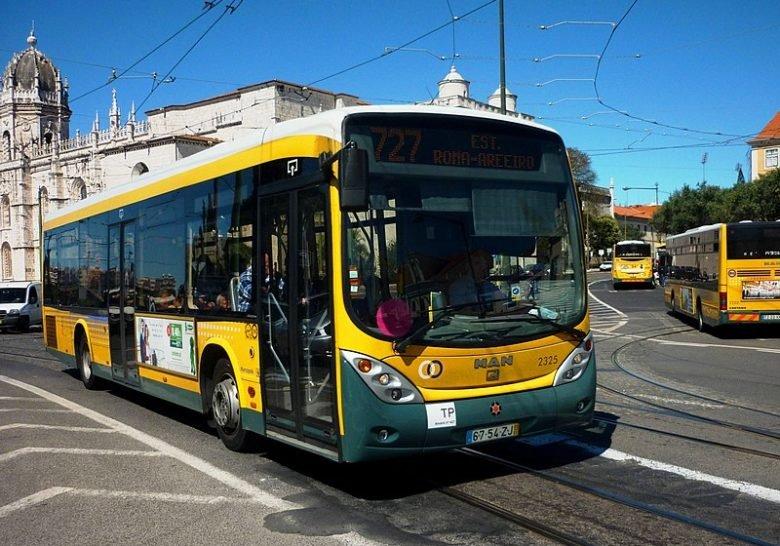 727 Bus Lisbon