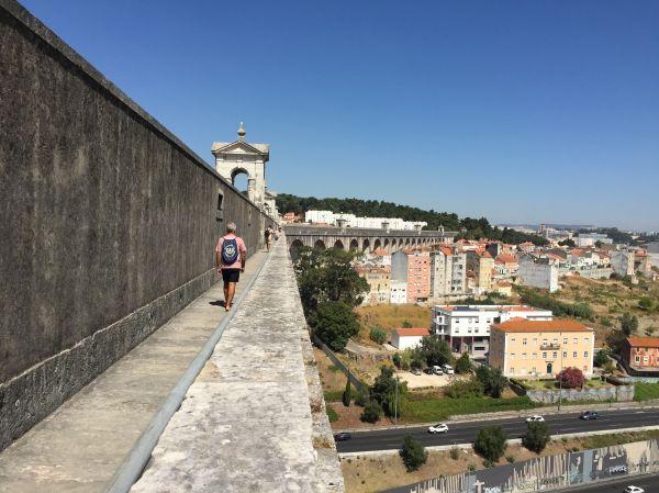 Aguas Livres Aqueduct Lisbon