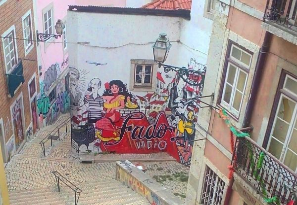 Escadinhas de São Cristóvão Lisbon